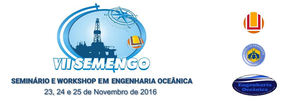 SEMENGO - Seminário e Workshop em Engenharia Oceânica - FURG Rio Grande - RS - Brazil
